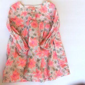 Floral glittery dress girls 18 months